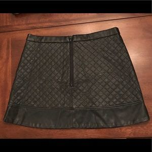 W118 by Walter Baker Skirts - W118 by Walter Baker Leather Mini Skirt